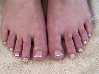Beautiful French Pedicure
