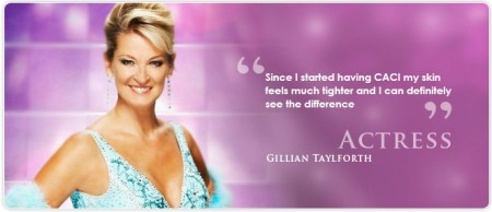 Gillian Taylforth endorses CACI